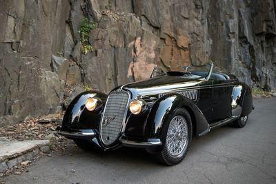 1939 Alfa Romeo 8C 2900B Lungo Spider (RM Sotheby's)