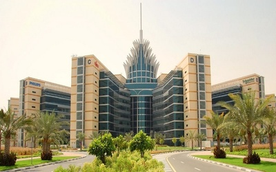 The Dubai Silicon Oasis headquarters.