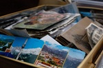 One of the challenges of downsizing is deciding whether to keep or toss souvenirs and mementos.