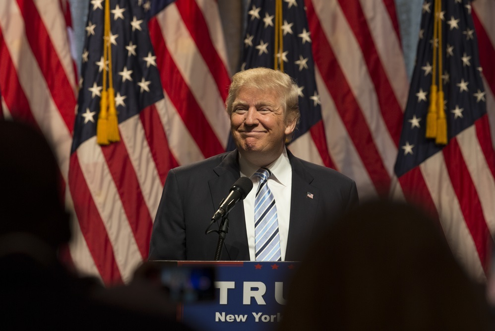 South Carolina's nine electoral voters unanimously cast their votes for Donald Trump.