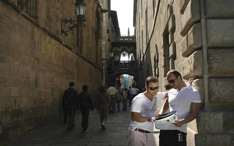 Brazilian tourists can be bigger spenders than Europeans in Catalonia.