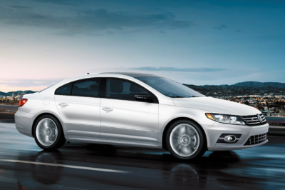 The Volkswagen CC is available in two different trims.