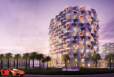 An apartment will be available in Binghatti Views in the Dubai Silicon Oasis in August 2016