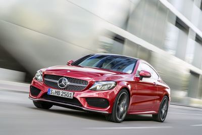The C-Class is longer and wider than before, which makes it more practical, if that matters to you. It is good to know, however, that the trunk is big enough to easily hold two sets of golf clubs.