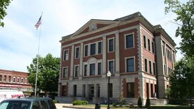 The Piatt County Board meets in the Piatt County Courthouse in Monticello.