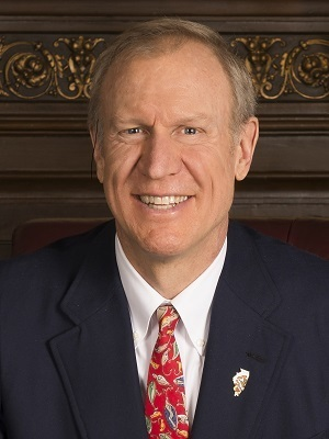Republican Illinois Gov. Bruce Rauner