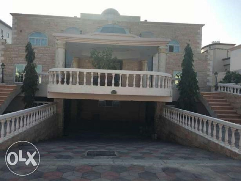A seven bedroom villa is available in Al Seeb
