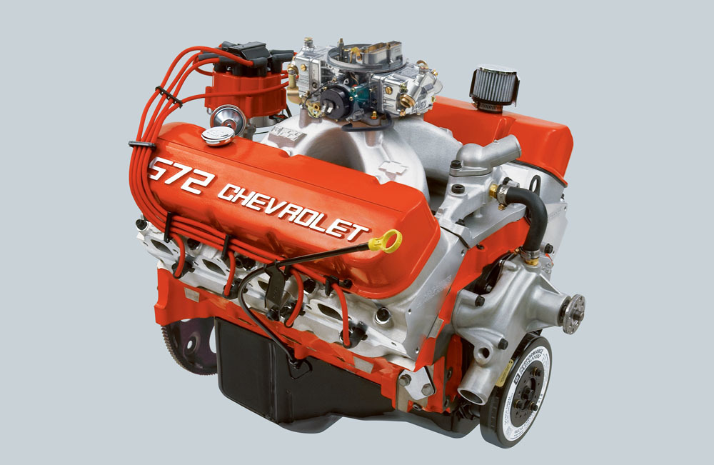The crate engines will be on display at the upcoming Specialty Equipment Market Association show.