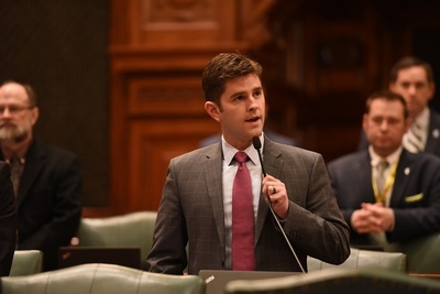 Illinois state Rep. Ryan Spain (R-Peoria)