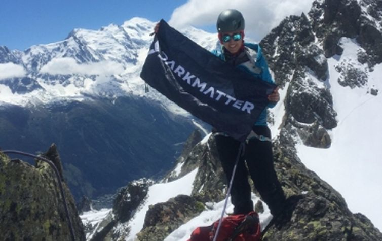 Cyber security firm DarkMatter sponsors female mountain climber's training