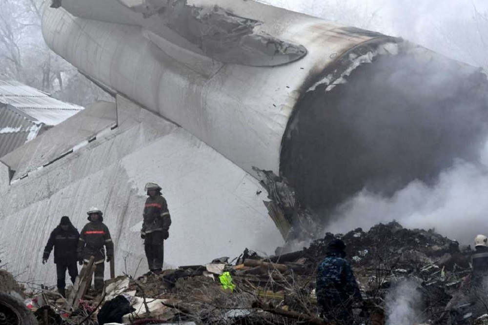 A Boeing 747-412F crashed this month during landing at its scheduled stopover at Manas International Airport in Bishkek.