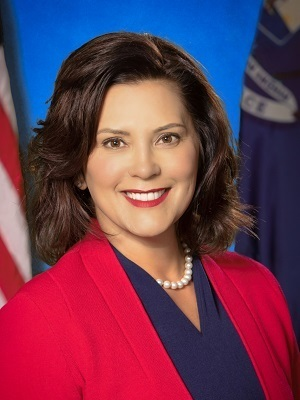 Michigan Democrat Gov. Gretchen Whitmer