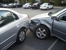 Large car crash