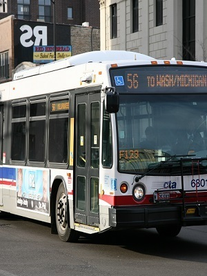 Large cta bus line 56