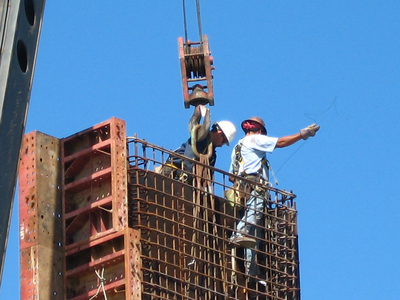 The construction industry is starting to see an increase in wages.