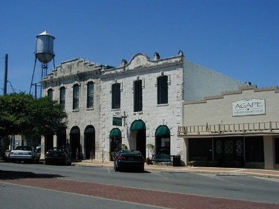 Downtown Round Rock is undergoing renovation and redevelopment as part of a 2010 master plan to revitalize the community.