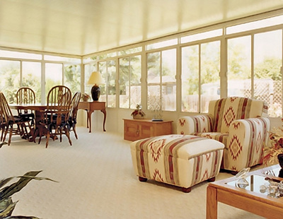 Today's sunrooms can be an integral part of the home's interior.