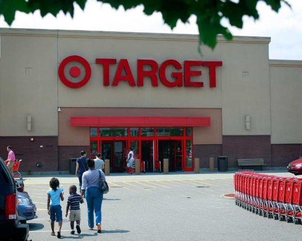 Large target entrance