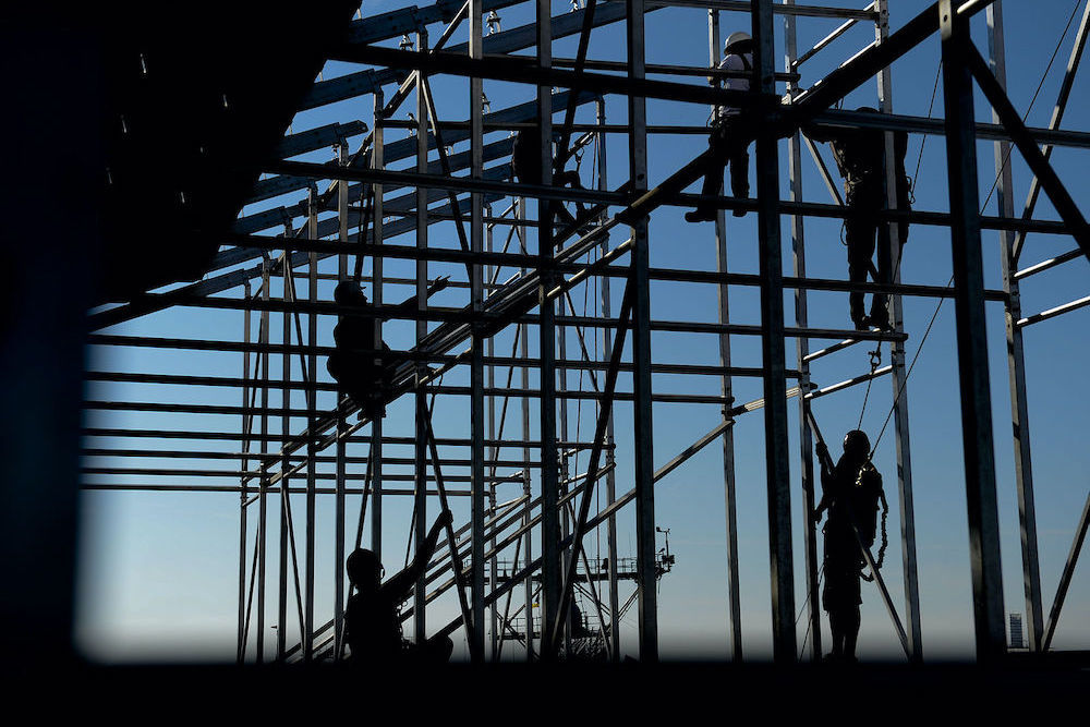 1600px flickr   official u.s. navy imagery   construction workers assemble bleacher scaffolding.