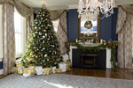 Decorated mantels are as classic as the Christmas tree during the holiday season.