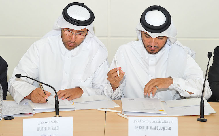 Qatar University, Qatar Financial Center sign MoU with four major accounting firms for tax training sessions