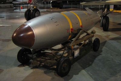 Medium 1600px mark 7 nuclear bomb at usaf museum