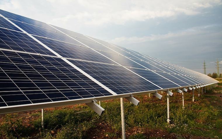 The first of the two new 72 megawatt solar farms should be operational by the end of 2018.