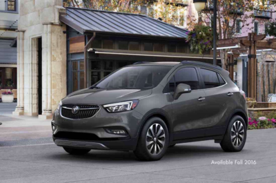 2016 Buick Encore seats five and includes several features.