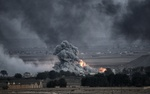 Airstrikes continue to hinder ISIL terrorists in Syria, Iraq.