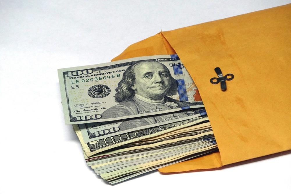 Bribery money