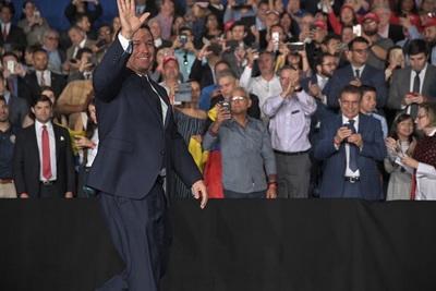 Florida's Republican Gov. Ron DeSantis at an event in February