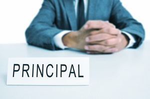 The council approved the principal evaluation rating.