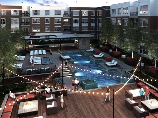 The Vue features a resort-style heated pool for residents' year-round enoyment.