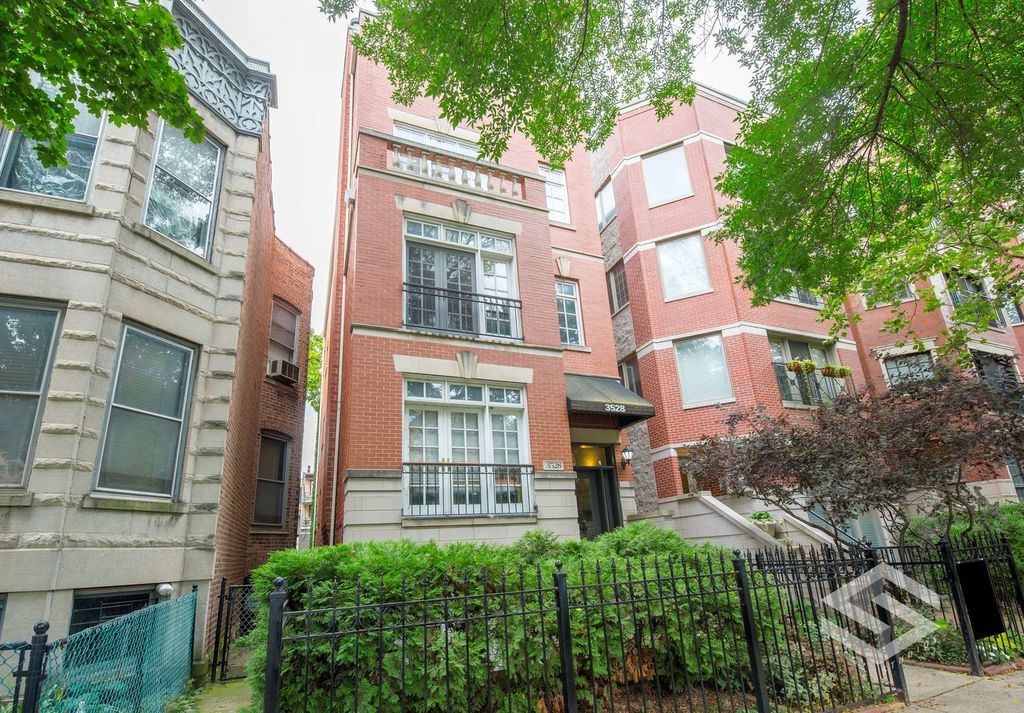 The property at 3528 N. Fremont in Wrigleyville is listed with a sale price of of approximately $470,000.