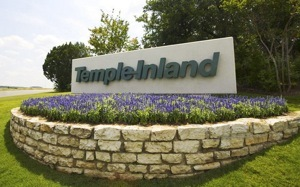 Temple inland bluebonnet sign