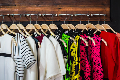 Organizing clothes on good hangers by color and style can help you get a handle on your closet.