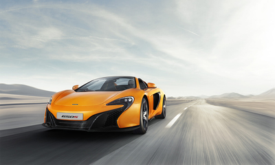 The McLaren 650S Spider will be featured at the show.