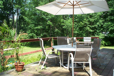 Patio furniture effectively extends a home's living area to the great outdoors.