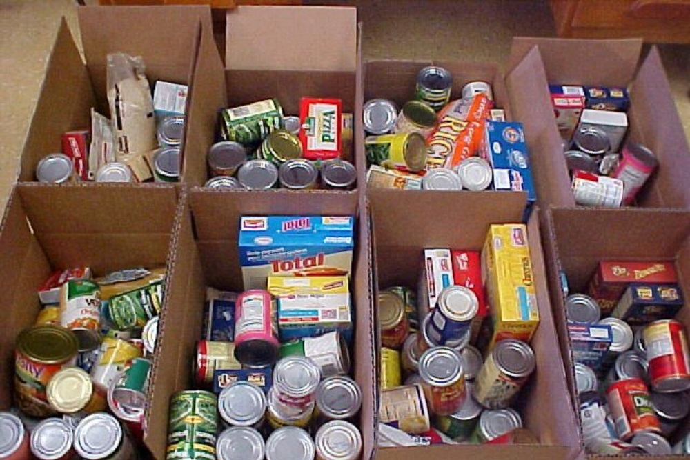 The Community Center of Northern Westchester received 218 pounds of food.