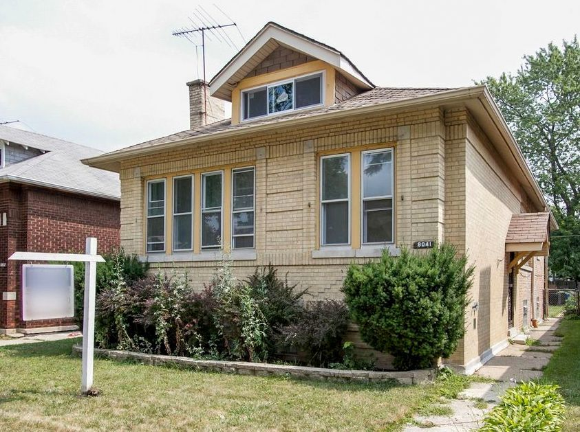 The house located at 8041 S. Clyde Ave. in South Chicago, currently offered for $89.9K, had a 2016 property tax bill of $2,340.