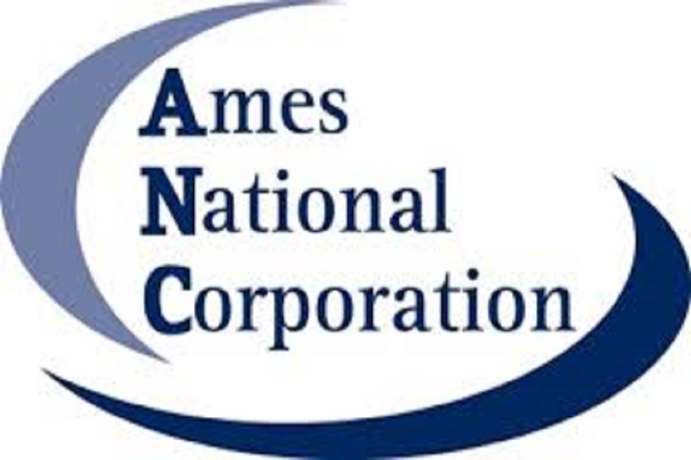The corporation's affiliate banks include First National Bank of Ames.