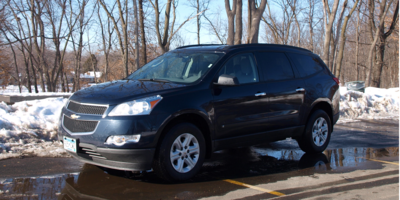 A Chevrolet Traverse, similar to the one at the center of a recent lawsuit.