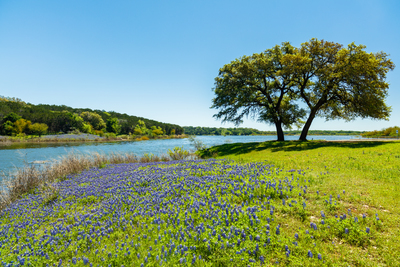 Located in Hill Country, Leander boasts great scenery.