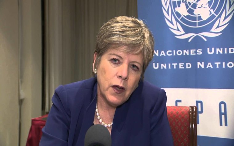 Alicia Barcena, executive secretary, United Nation´s Economic Commission for Latin America and the Caribbean