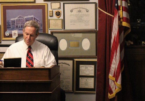 Rep. Joe Wilson (R-SC0, pictured above, is the sponsor of the National Right To Work Act