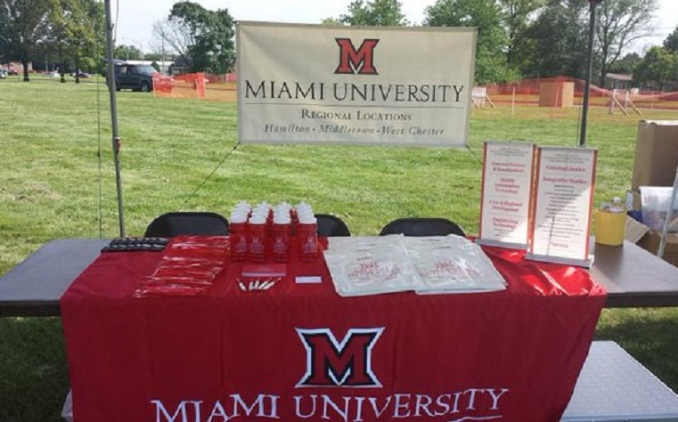 Miami University Regionals' Middletown campus will begin celebrating its 50th anniversary.