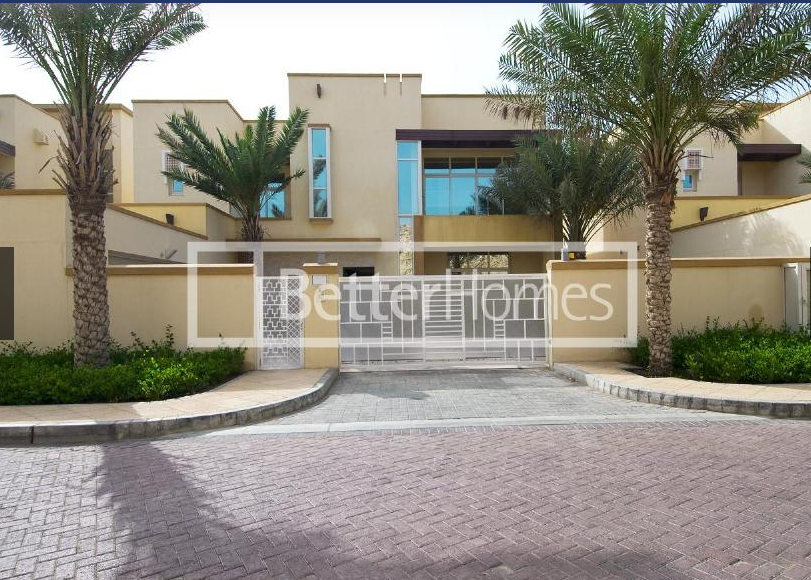 A five bedroom detached villa is now available in Barr Al Jissah Residences.