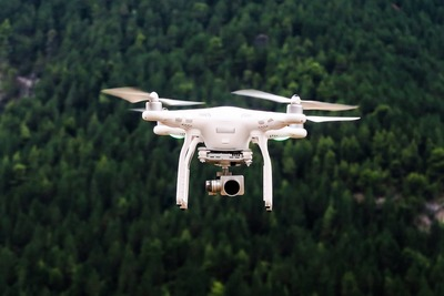 Drones can quickly and accurately capture data, expediting a mapping process.