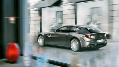 The 2014 Ferrari FF received a high customer rating from Kelley Blue Book.