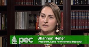 Keep Pennsylvania Beautiful Executive Director Shannon Reiter